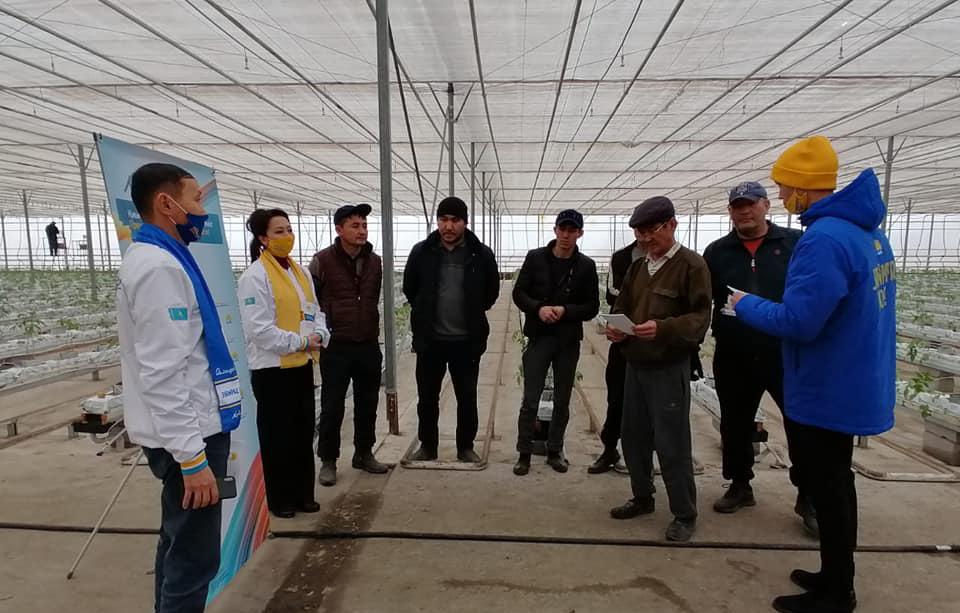 Партия «Nur Otan»: До 2025 года ордабасинский район на 100 процентов будет обеспечен питьевой водой 3