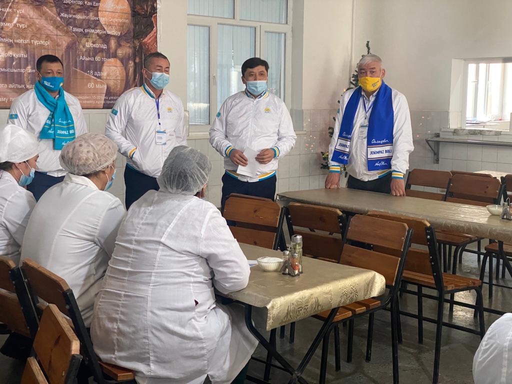 «Nur Otan»: Төлеби ауданы 100 пайыз газбен және ауыз сумен қамтылады 9