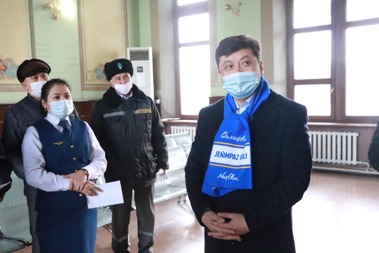 «Nur Otan»: Түркістан қаласында 2023 жылы жаңа темір жол вокзалы салынады 3