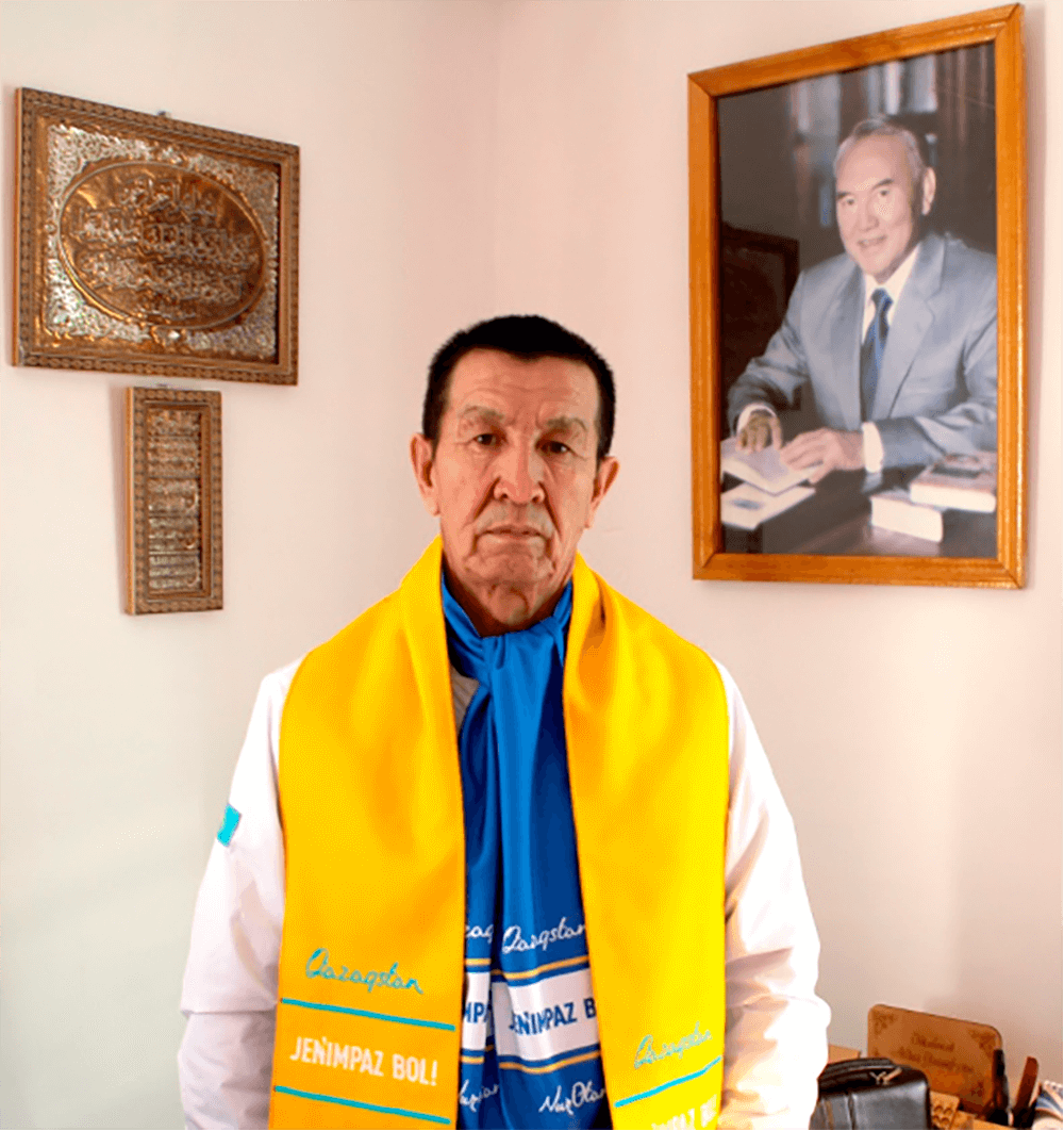 «Nur Otan» партия бұл - біз таңдаған 1