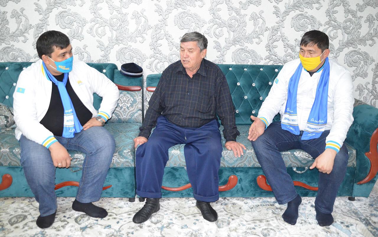 Түркістан–Мақтаарал: Аудандағы 8 мыңнан астам ардагер «Nur Otan»-ды қолдайды 1