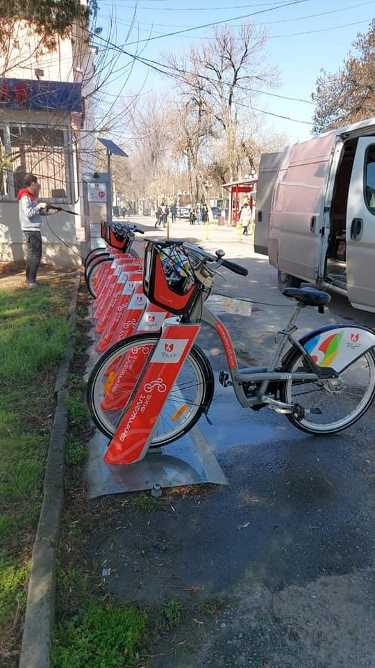 """Shymkent bike"" велосипедтеріне клинингтік тазалау жұмыстары жүргізілді 1"