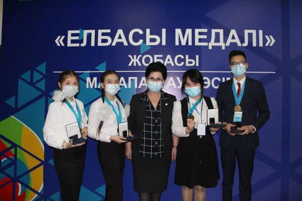 Шымкентте 131 оқушы «Елбасы медалі» иегері атанған 1