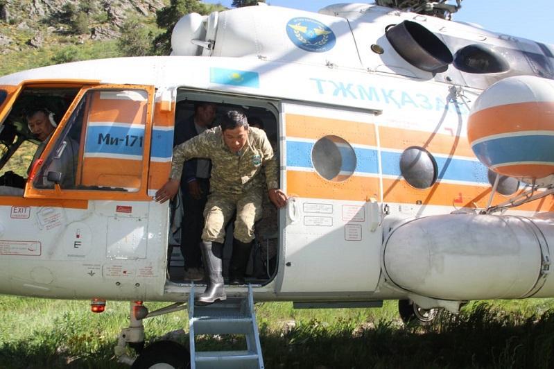 Түркістан облысында жоғалған екі туристті іздеуге Өзбекстан құтқарушылары да жұмылдырылды 1