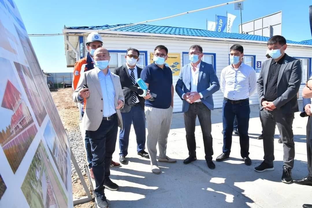 BI Group Шымкентте жаңа ипподромның құрылысын бастады 1
