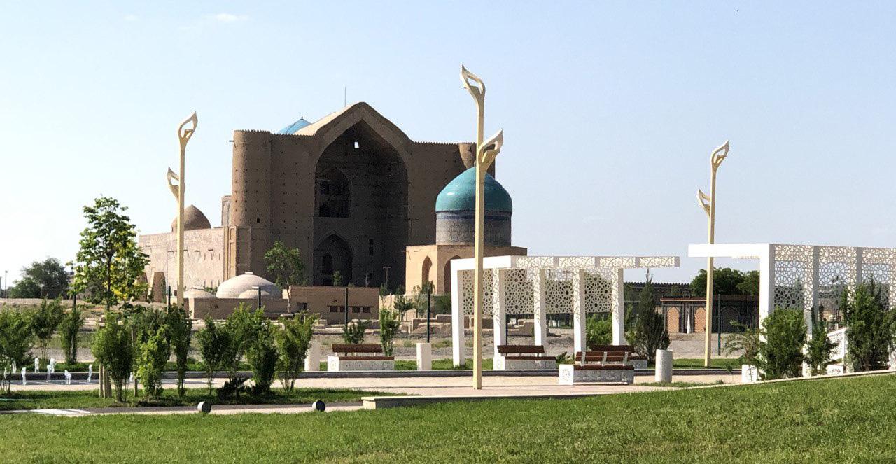 Нұрсұлтан Назарбаев Түркістан қаласына келді 1