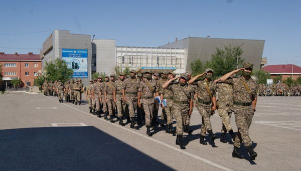 Шымкент гарнизонының механикаландырылған бригадасының құрылғанына - 79 жыл 1