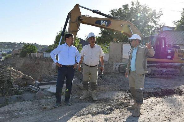 Шымкент қаласы әкімінің орынбасары бірқатар құрылыс нысандарында болды 1