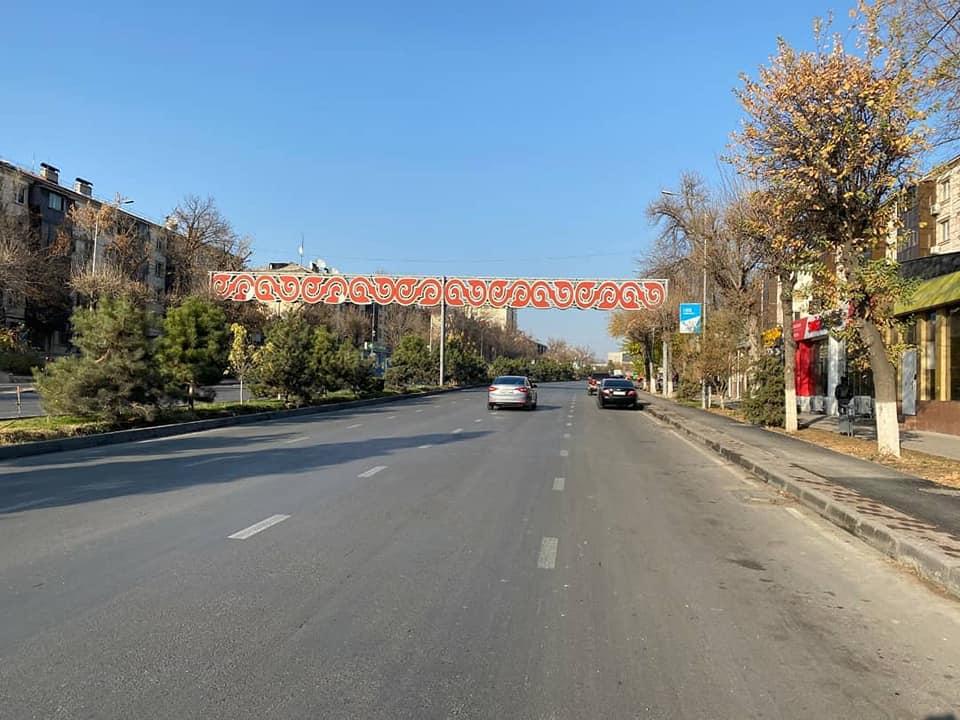 Шымкенттегі Республика даңғылында орташа жөндеу жұмыстары жүргізілуде 1
