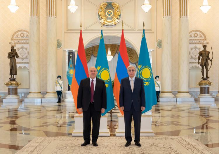 Қасым-Жомарт Тоқаев Армения президентімен кездесті 1