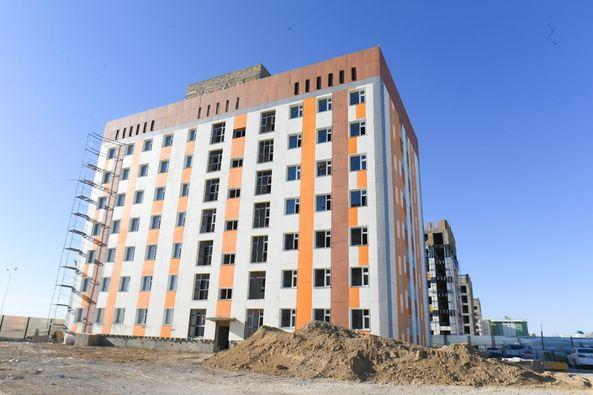Түркістан қаласында 100-ге жуық көпқабатты тұрғын үй салынды 1