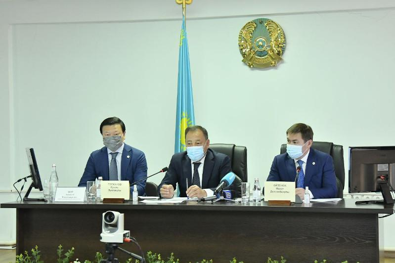 Ералы Тоғжанов Шымкентте ведомствоаралық комиссияның көшпелі отырысын өткізді 1