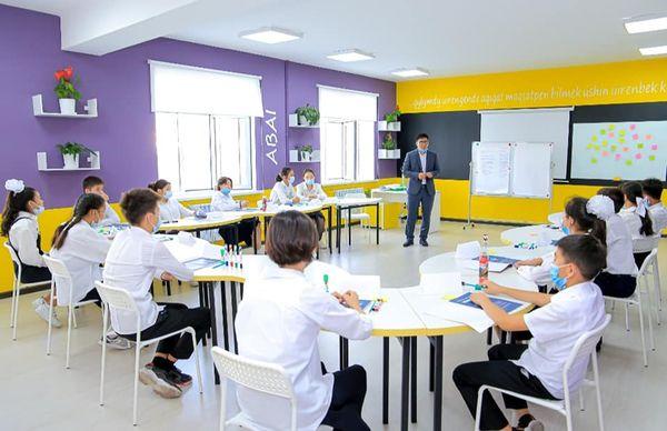 Шымкент қаласы мектеп оқушыларының оқу кестесіне көшбасшылық бойынша факультативтер енгізілді 1