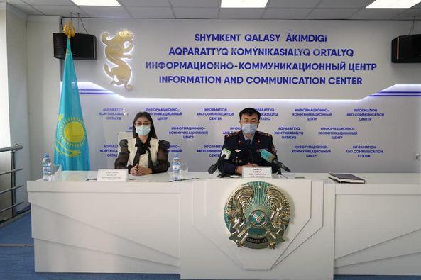 Полиция департаменті бастығының орынбасары қайта құрылым бойынша брифинг берді 1